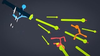 SNAKE LAUNCHER IS OP! - STICK FIGHT