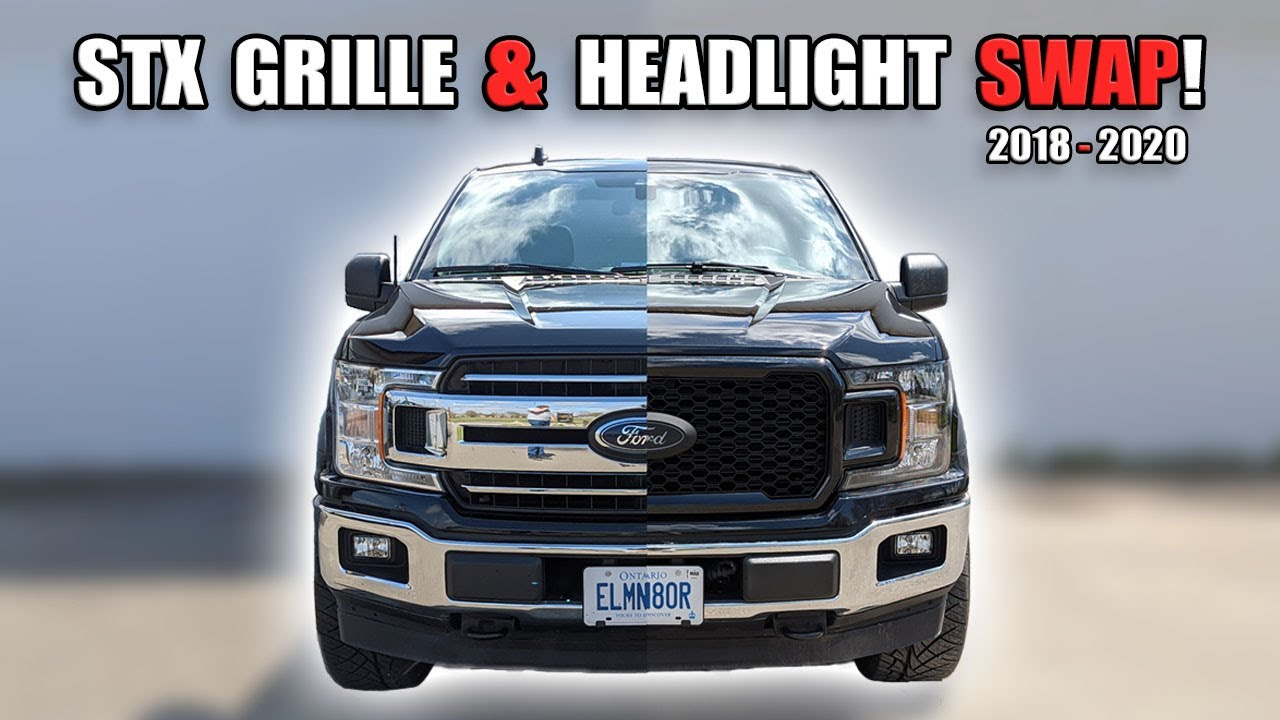 How to Replace the Grille & Headlights on a 2018-2020 Ford F150