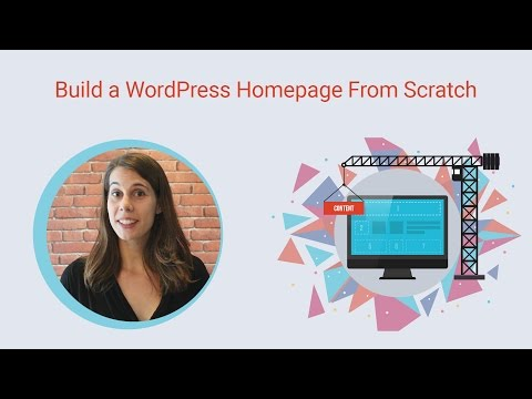 How to Build a WordPress homepage for a Live Event
