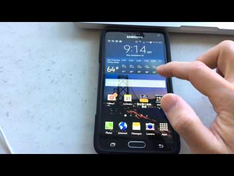 How to add widgets to Samsung Galaxy note 4
