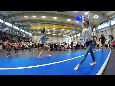 Fitness girls on AirTrack | #FLIPTRACK