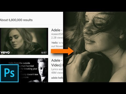 Pick Color Anywhere & Reproduce Music Video Styles in Photoshop