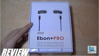 Review: Basn Ebon  Pro Hifi Wood Earphones (iem)