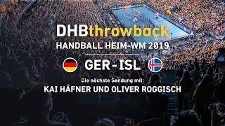 DHBthrowback Folge 4: Der Hauptrundenauftakt Deutschland – Island im Re-Live