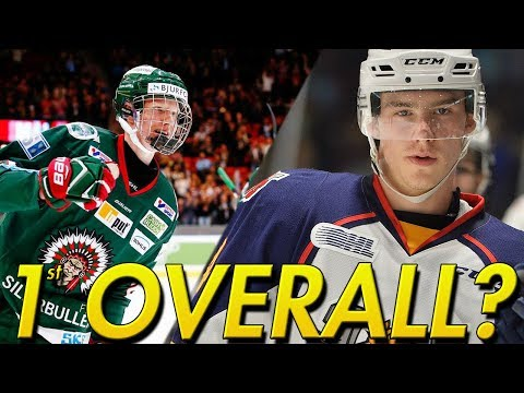 Rasmus Dahlin VS Andrei Svechnikov Who Goes First Overall?! | NHL 18