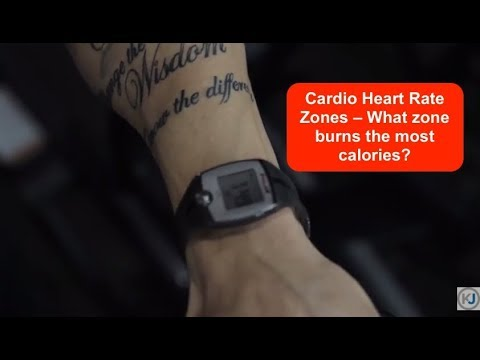 Cardio Heart Rate Zones: What zone burns the most calories?