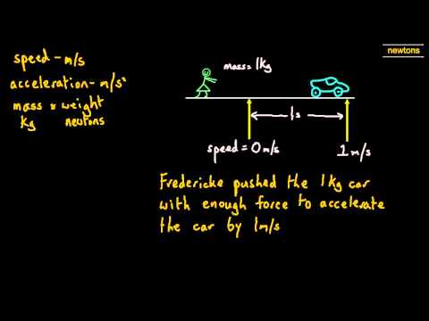 03 Newton - The Unit of Weight and Force