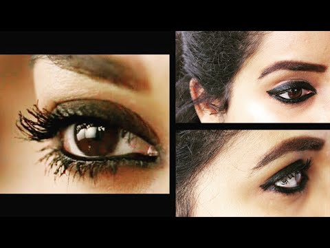 Nayanthara Inspired EYE MAKEUP Look From Her Movie Imaikkaa Nodigal | Happy Pink Studio