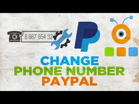 How to Change the Phone Number in PayPal Account