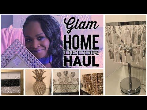 GLAM HOME DECOR HAUL 2018| TJMAXX, ROSS, BURLINGTON, KIRKLANDS