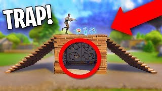 WOULD YOU FALL FOR THIS?? *FAKE FLOOR TRAP!*   Fortnite Battle Royale