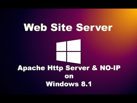 Hosting a Web Server using Apache