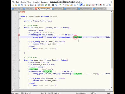 Create OOP PHP Framework MVC for 80 minutes Part 7