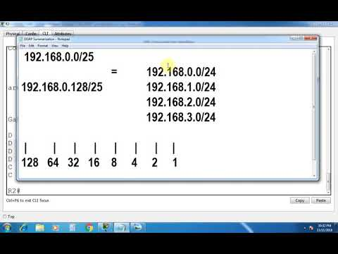EIGRP Manual Route Summarization In Cisco Router - Part 37   CCNA 200-125 (Routing & Switching)