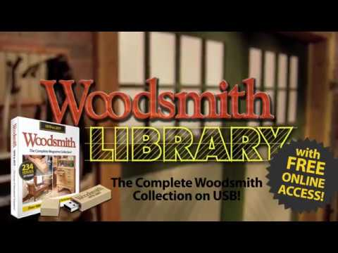 Woodsmith Magazine Digital Library - Promo