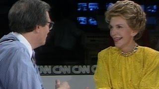 Nancy Reagan Dishes About New Memoir 1989