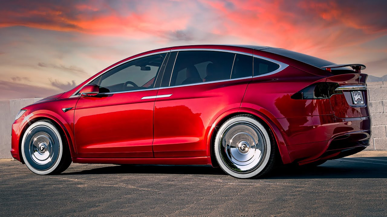 Quavo's Bloody Tesla X | West Coast Customs