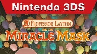 Nintendo 3DS - Professor Layton and The Miracle Mask Trailer