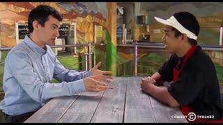 NATHAN FIELDER Interview Promo ft. Andy Samberg & Seth Rogen
