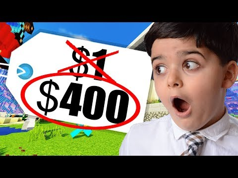 Kid Pays $400 for $1 Minecraft Server Rank!?!