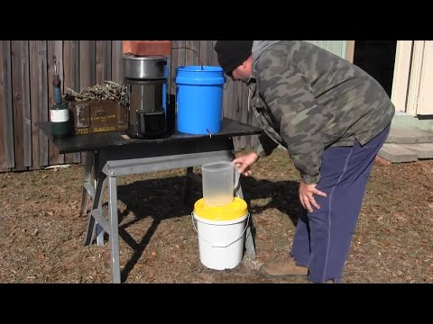 How to make a water distiller