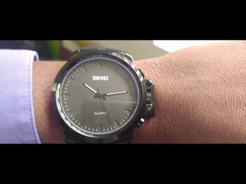 CakCity Men's Quartz Stainless Steel and Polyurethane Watch Review