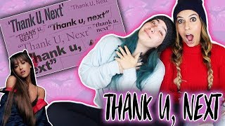 Ariana Grande  Thank U Next Audio Reaction