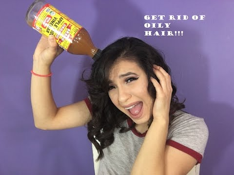 How To Get Rid Of Oily HAir For Several Days