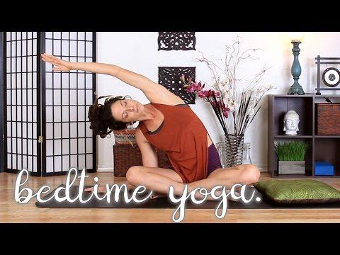 Bedtime Yoga - Winding Down & Relaxing 10 Min Yoga