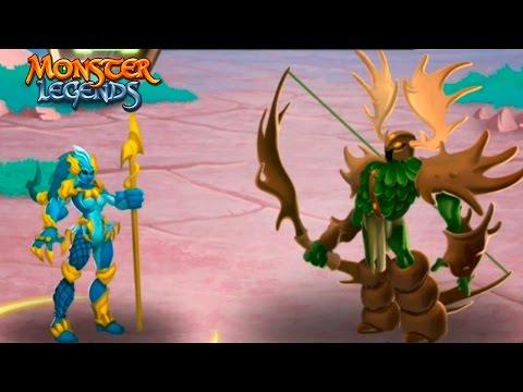 General Alces Босс 300 остановка Карта странствий Monster Legends