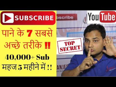 How to Get your First 1000 Subscribers Quickly on YouTube