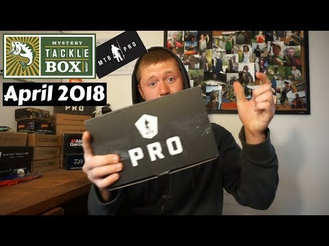 Mystery Tackle Box PRO ~ April 2018 Unboxing