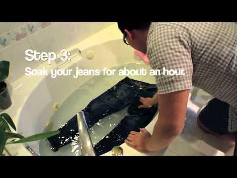 How To Wash Raw Denim Jeans - ABCDENIM