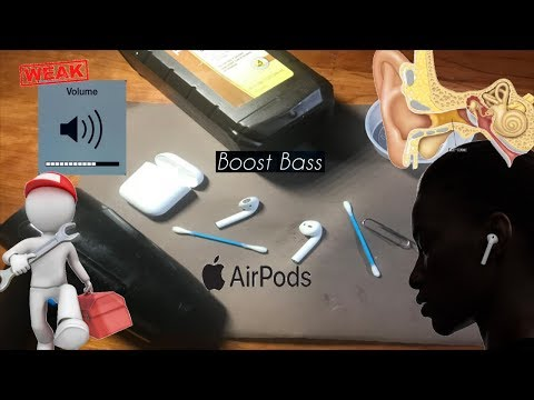 Clean Fix Apple Airpods with Low Volume & Bass
