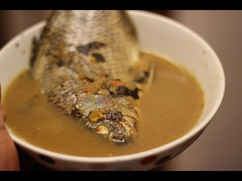 Fish pepper soup | Tilapia Fish Soup | Nigerian food