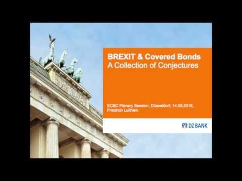 Brexit and covered bonds: a collection of conjectures - keynote speech with slides