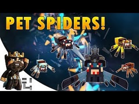 Minecraft Mods | RIDEABLE PET SPIDERS MOD! (TAME THEM, RIDE THEM & More!) | Mod Showcase