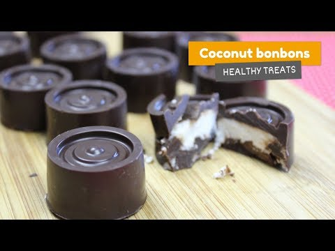 Coconut bonbons • 🇧🇷 Bombom Prestígio • Healthy treats #3