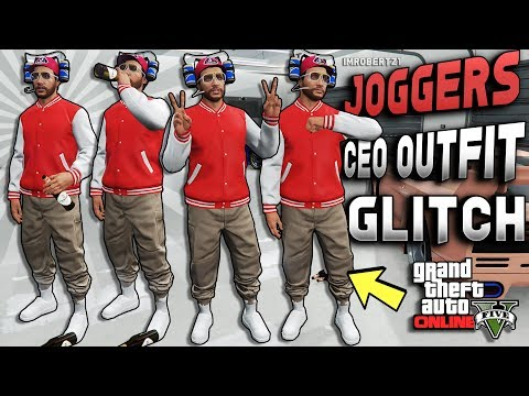 GTA 5 Save Any CEO Outfits! SOLO Tan Joggers Glitch! GTA Online Clothing Glitches (GTA 5 Glitches)