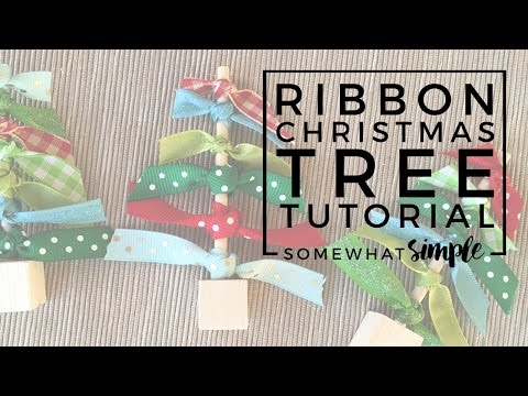 How to Make a Ribbon Tree