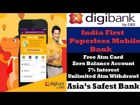 Digibank DBS- Digibank Account Opening | Digibank App | DBS Bank India