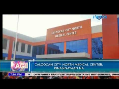 Caloocan City Northern Medical Center opens to public