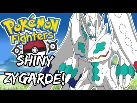 SHINY ZYGARDE! - Pokemon Fighters EX