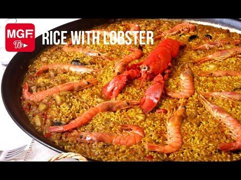Rice with lobster (Paella recipes) - Magefesa USA