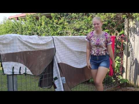 How To: Wash a Horse Blanket!