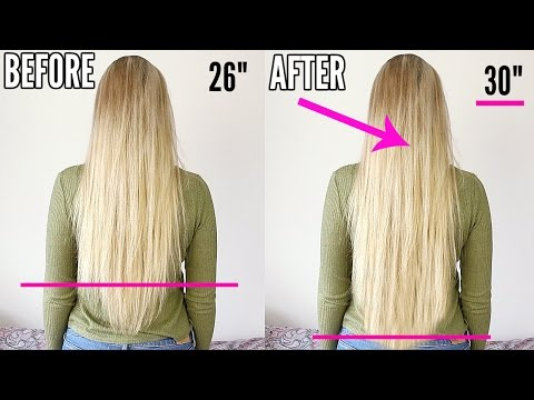 How To Grow Your Hair Fast OVERNIGHT!