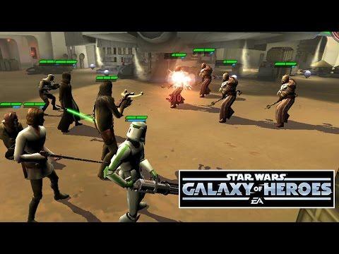 БИТВА НА ТАТУИНЕ STAR WARS GALAXY of HEROES  ч6