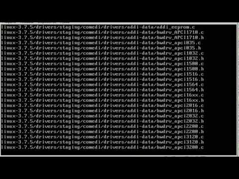 Instalar - compilar o kernel do Linux CentOS 6