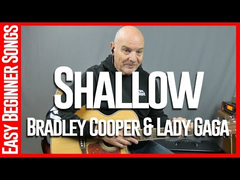 Shallow By Bradley Cooper and Lady Gaga - Guitar Lessons Tutorial