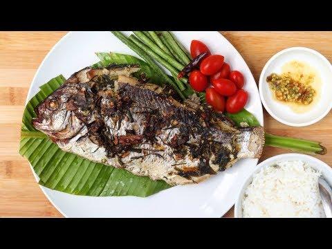 Hmong Style Herb Fish: Nqaj Ntseg Xwv